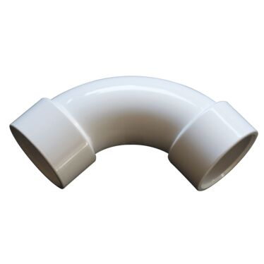 50mm PVC Sweep Elbow
